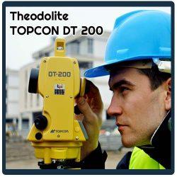 jual theodolite topcon dt 209 5